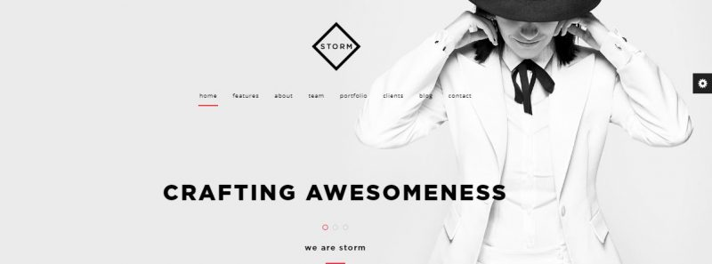 Storm HTML Template