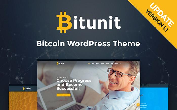 Bitcoin WordPress Template