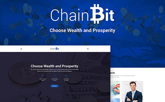 ChainBit - Bitcoin WordPress Theme