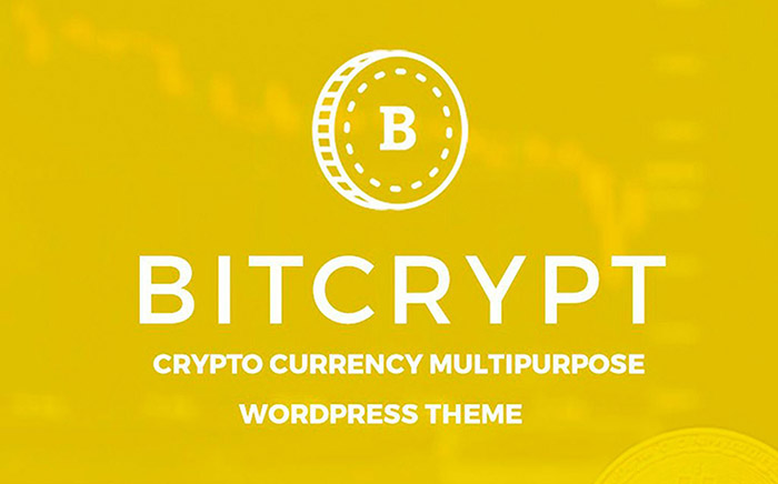 Bitcrypt - Bitcoin & Cryptocurrency WordPress Theme