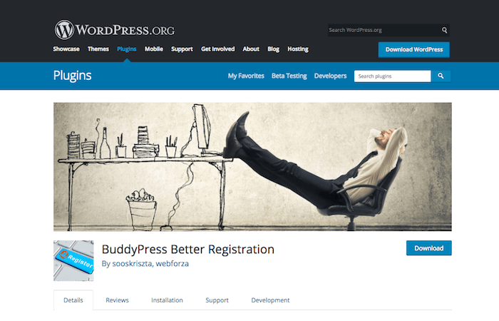 BuddyPress Better Registration