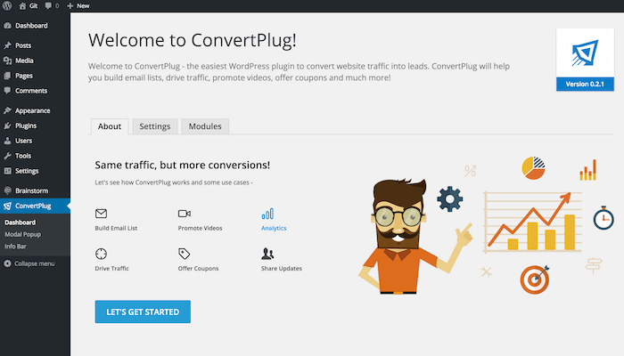 ConvertPlus Plugin Settings