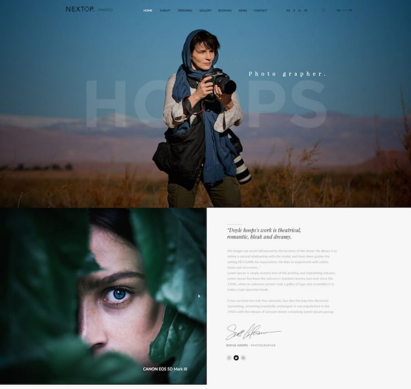 Nextop Fashion WordPress Theme