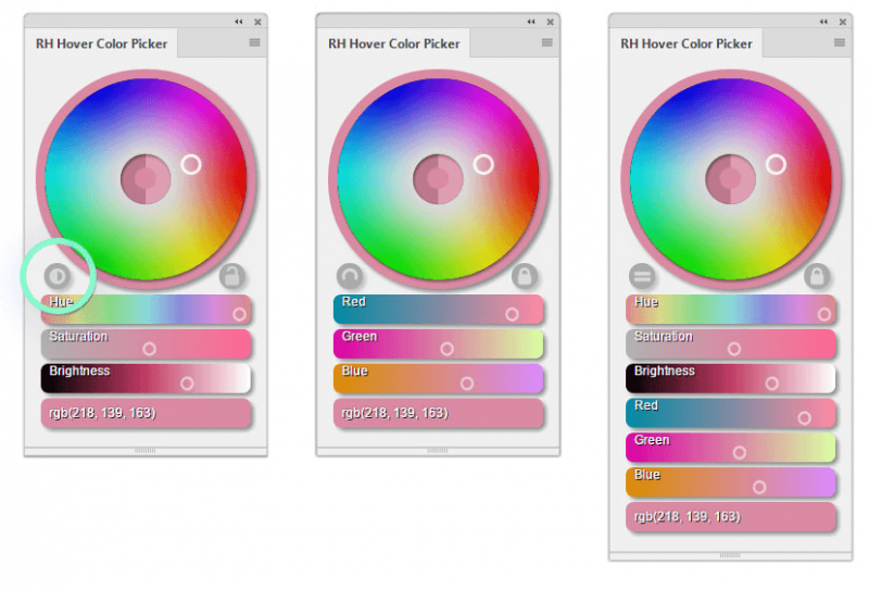 RH Hover Color Picker