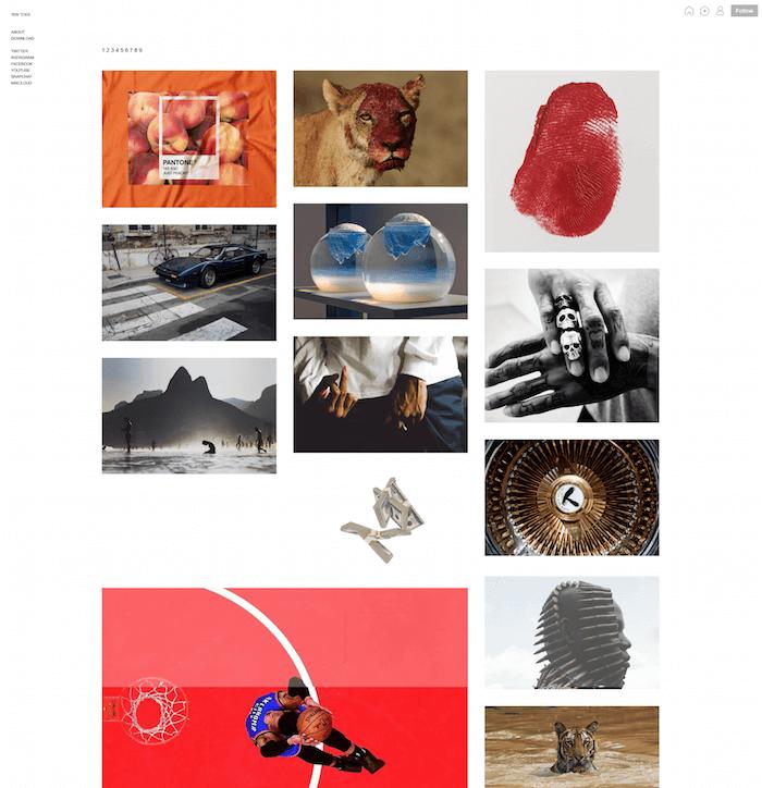 Ten Toes Free Tumblr Theme