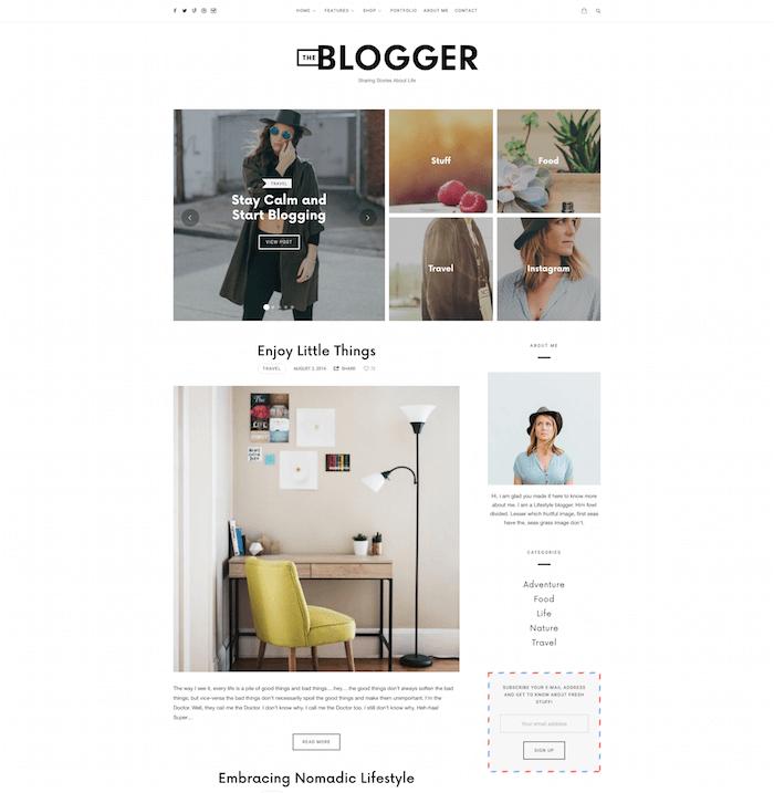 TheBlogger Theme