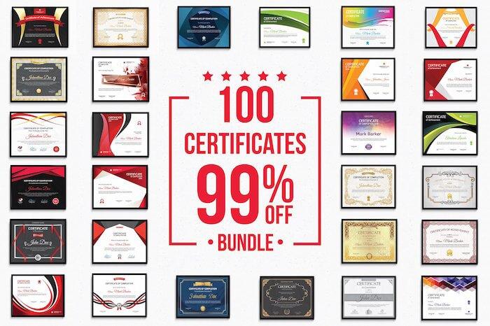 certificate template bundle