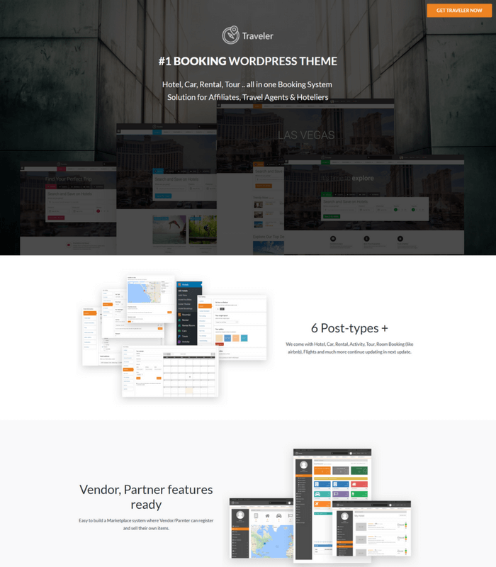 traveller WordPress Theme