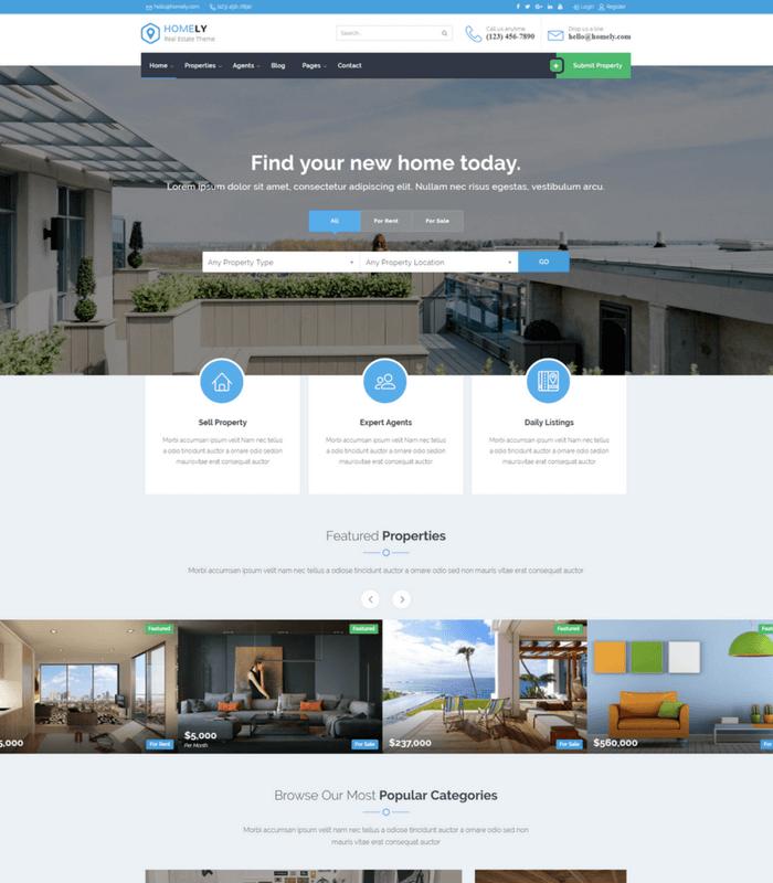 Homely WordPress Theme