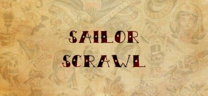 sailor scrawl