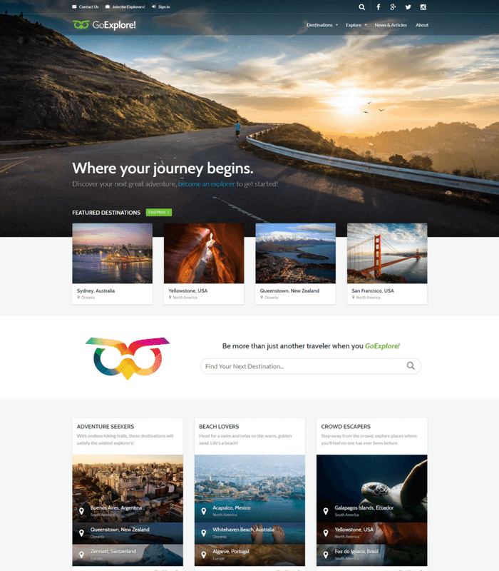 go-explore-wordpress-theme