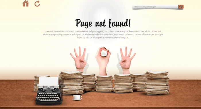 404 Error WordPress Plugins