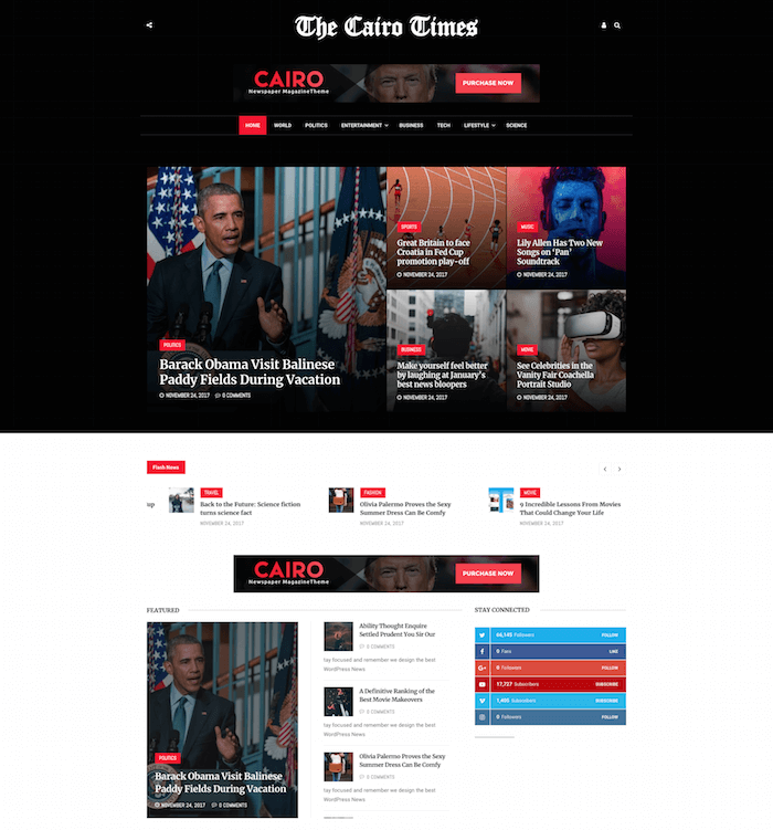 Cairo WordPress Theme