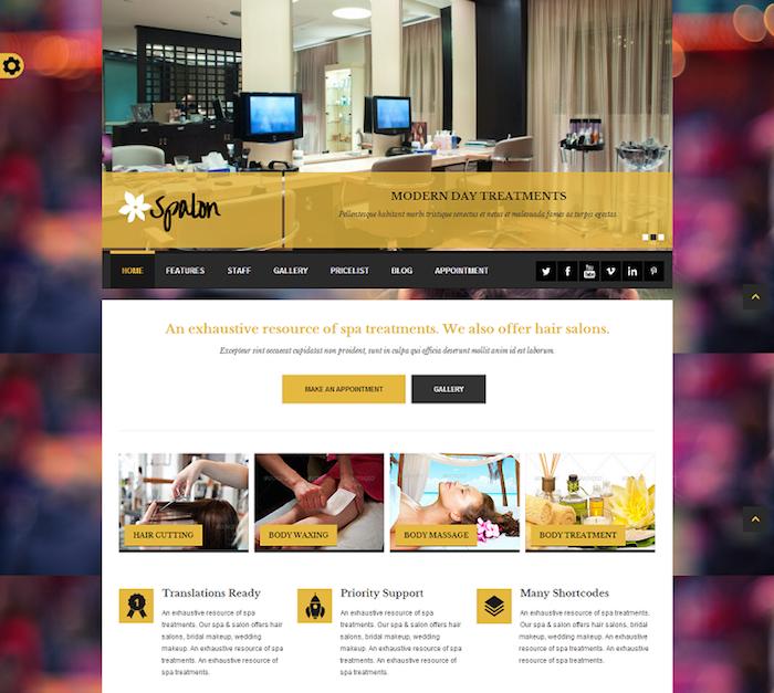 Spalon WordPress Theme