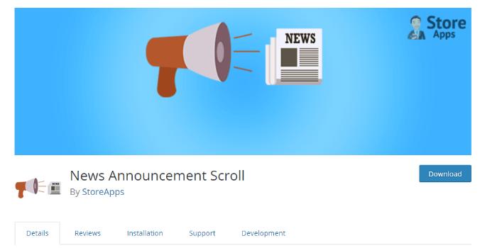 news-announcemnet-sroll