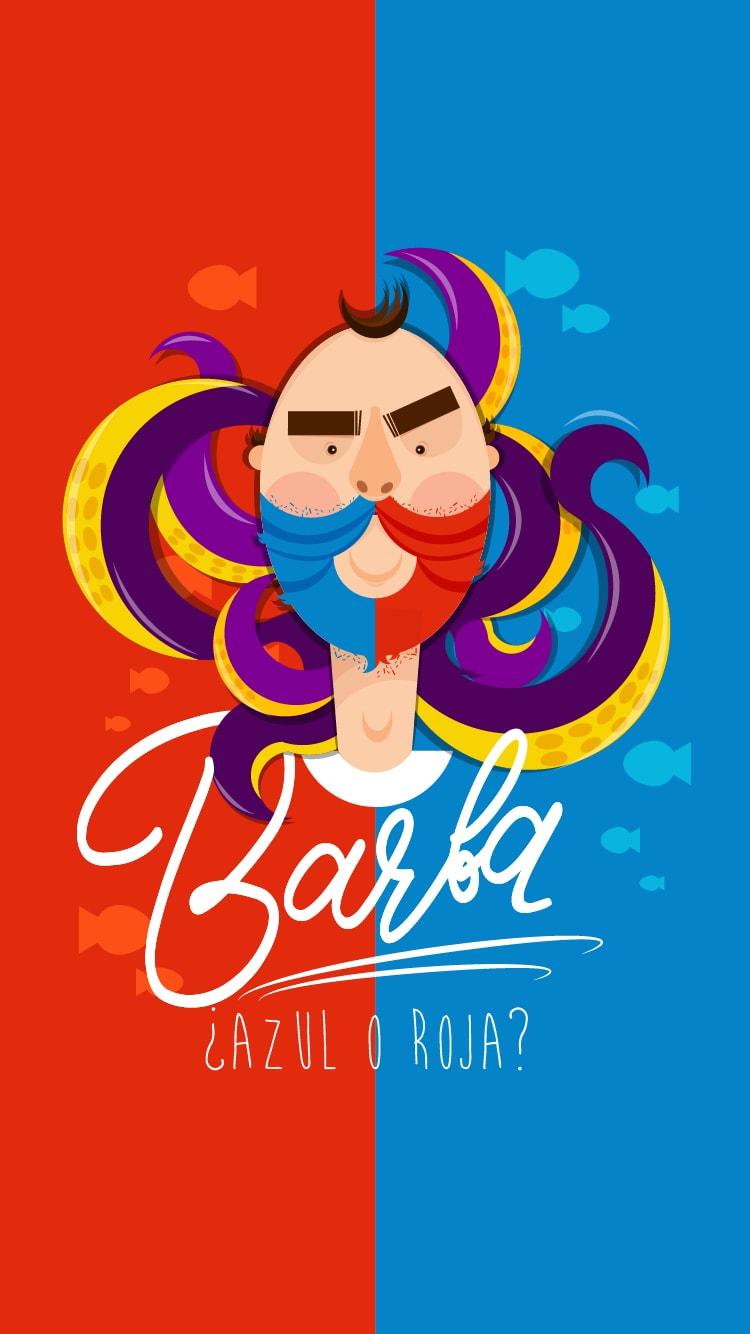Barba iPhone Wallpaper