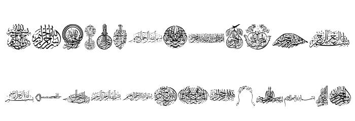 Besmellah 2 Font