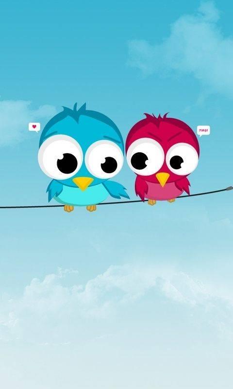 Twitter Birds Wallpaper