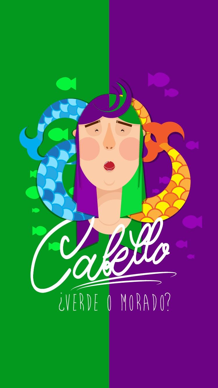 Cabello Background