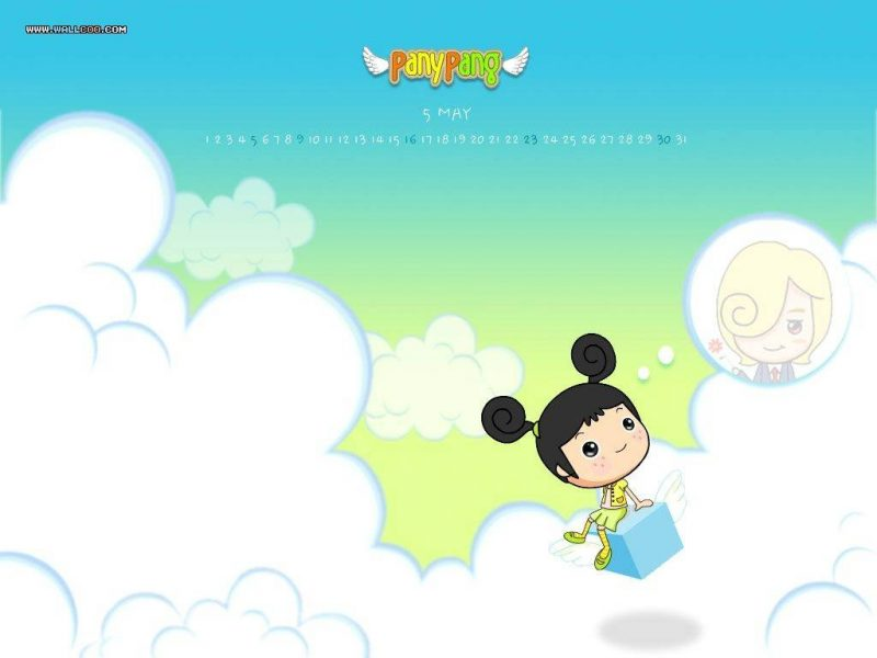 Girl On Clouds