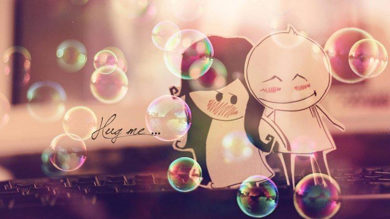 Hug Me Wallpaper