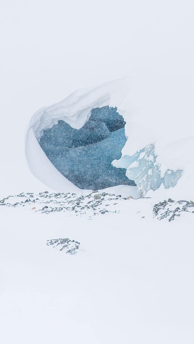 Ice-Mountain Wallpaper