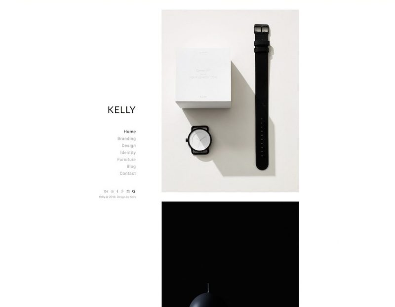 Kelly HTML Template