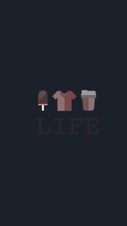 Life Minimalism Image Wallpaper