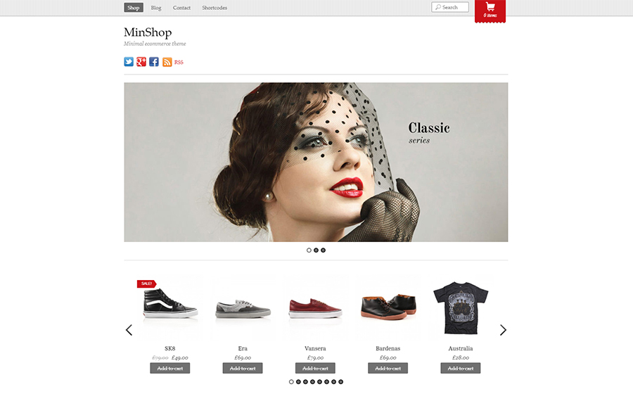 MinShop – WooCommerce WordPress Theme