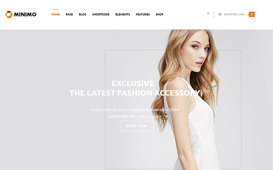 Minimo – Fashion WooCommerce WordPress Theme