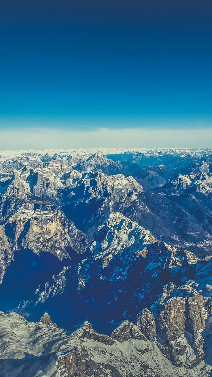 Mountaintops Wallpaper for iPhone 6 & 7