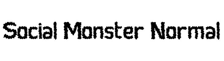 Social Monster Normal