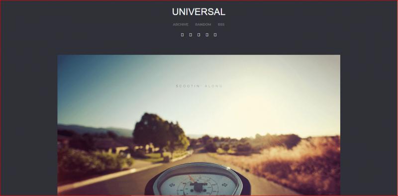 Universal Tumblr Theme