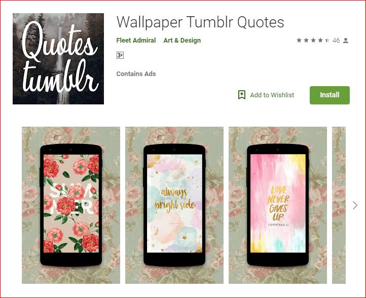 Wallpaper Tumblr Quotes