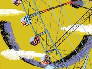 Ferris Wheel Day Wallpaper