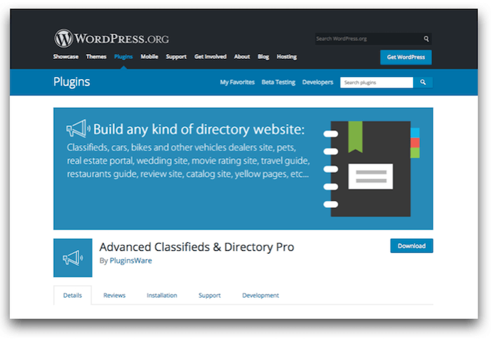 Advanced Classifieds & Directory Pro