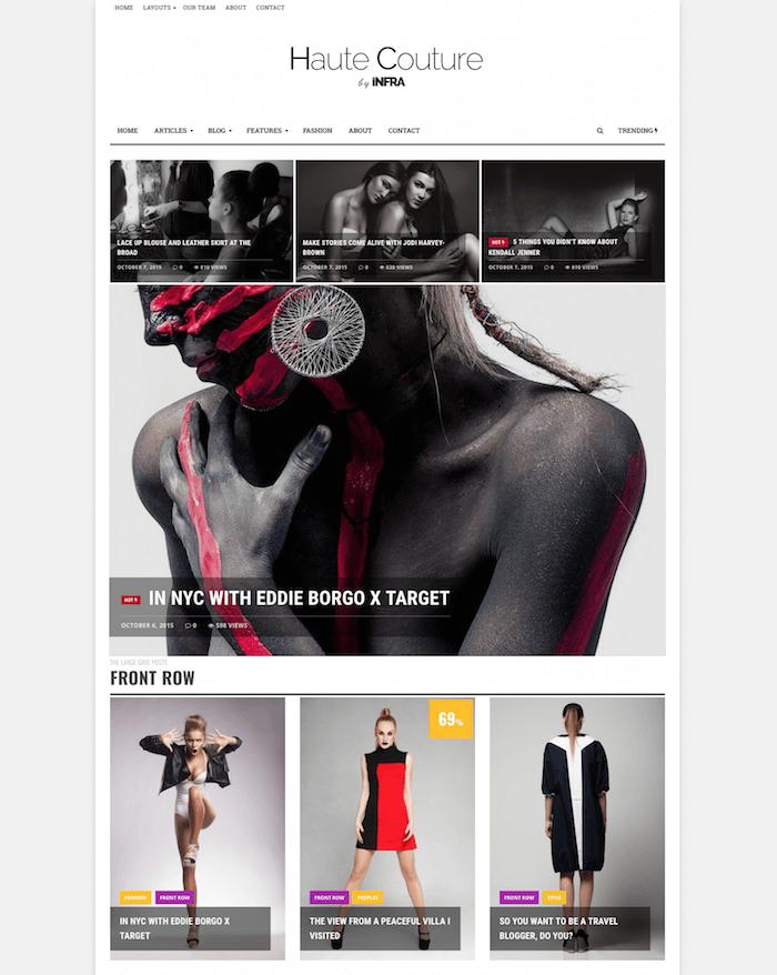 INFRA Elegant Magazine Theme