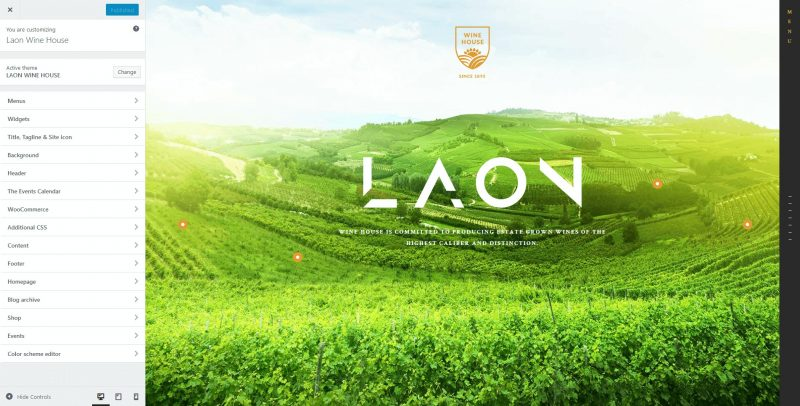 Laon WordPress Theme