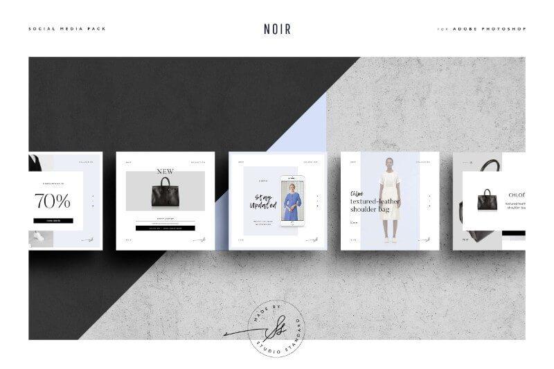 Noir Social Media Pack