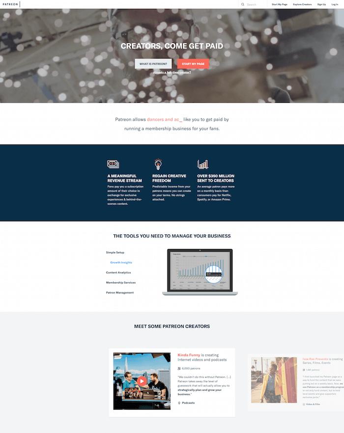 Patreon Video Platform