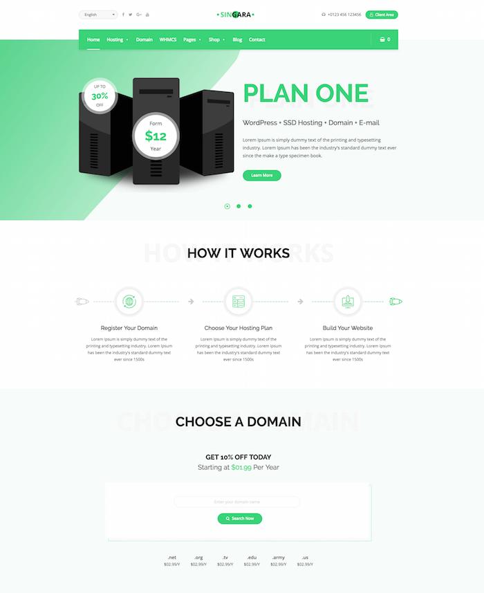 Singara WordPress Theme