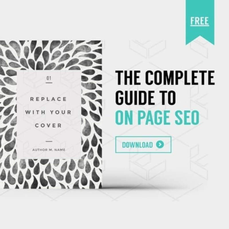 The Complete Guide to On page SEO Graphic Template