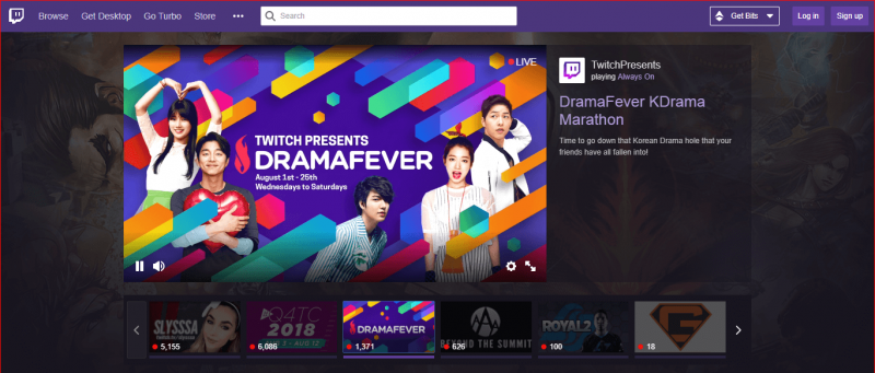 Twitch Video Platform