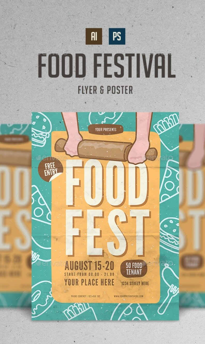 Food Fest Flyer