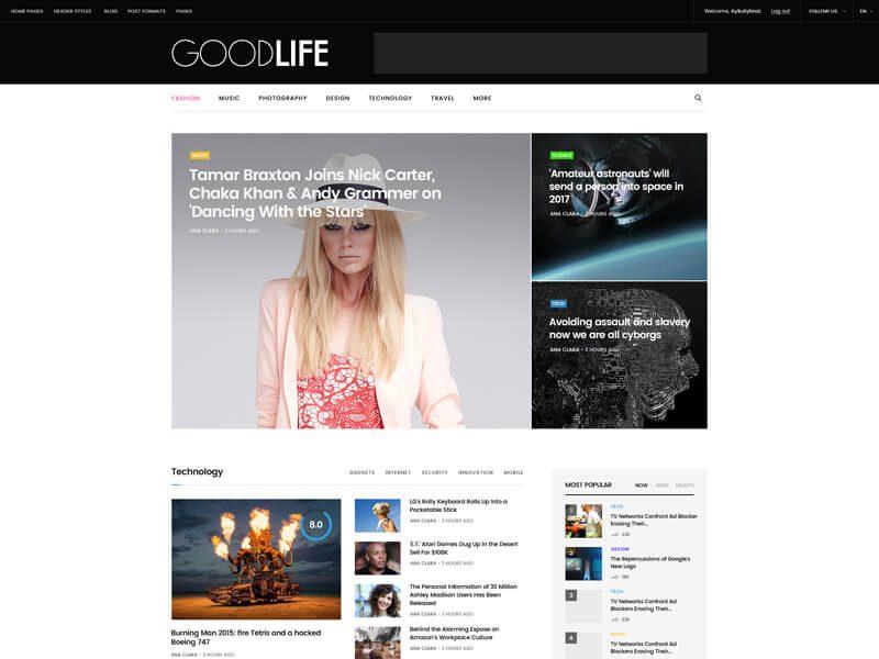 GoodLife Theme