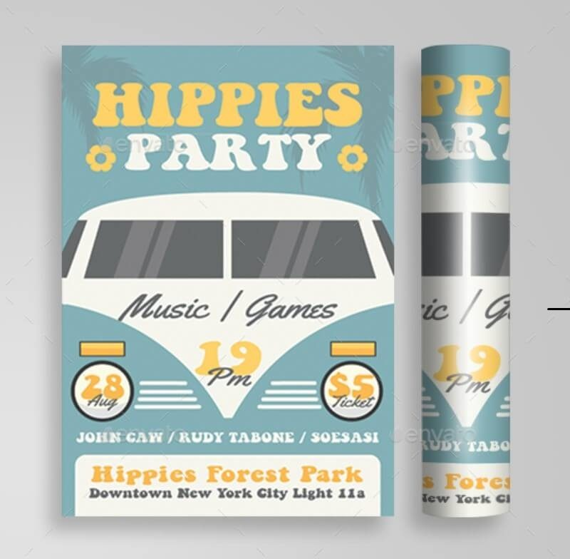 Hippies Music Party