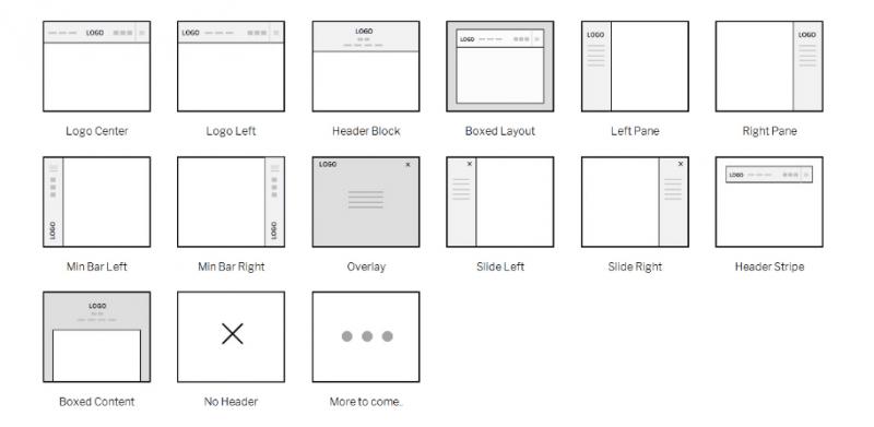 layout options