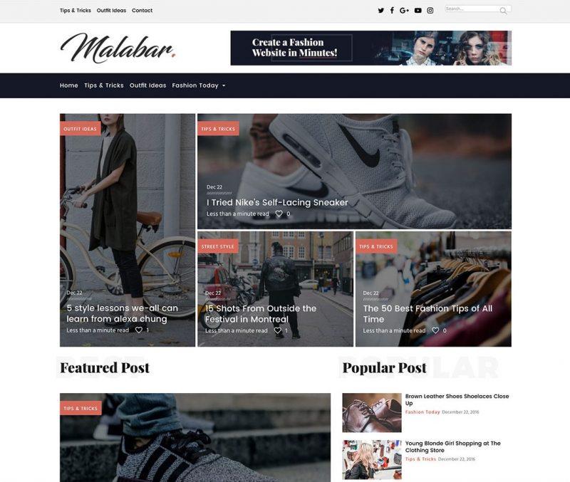 Malabar Fashion Theme