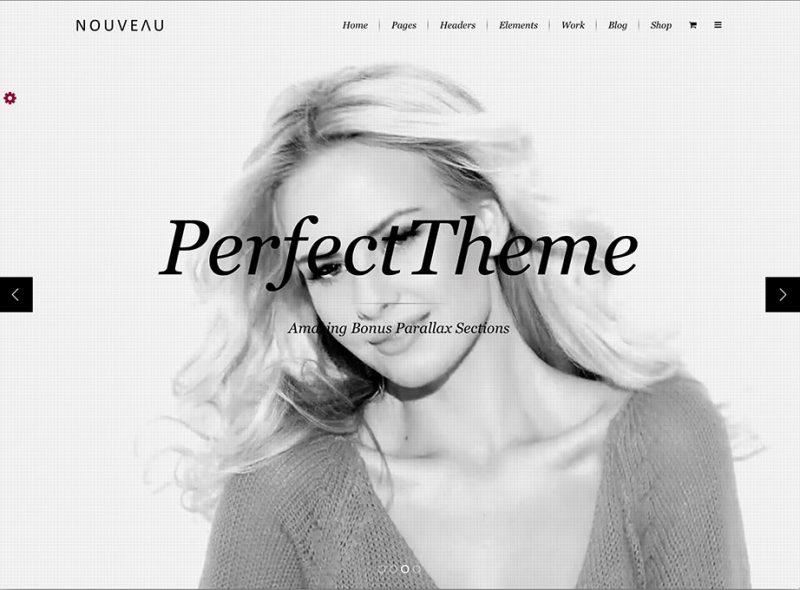 Nouveau Fashion WordPress Theme