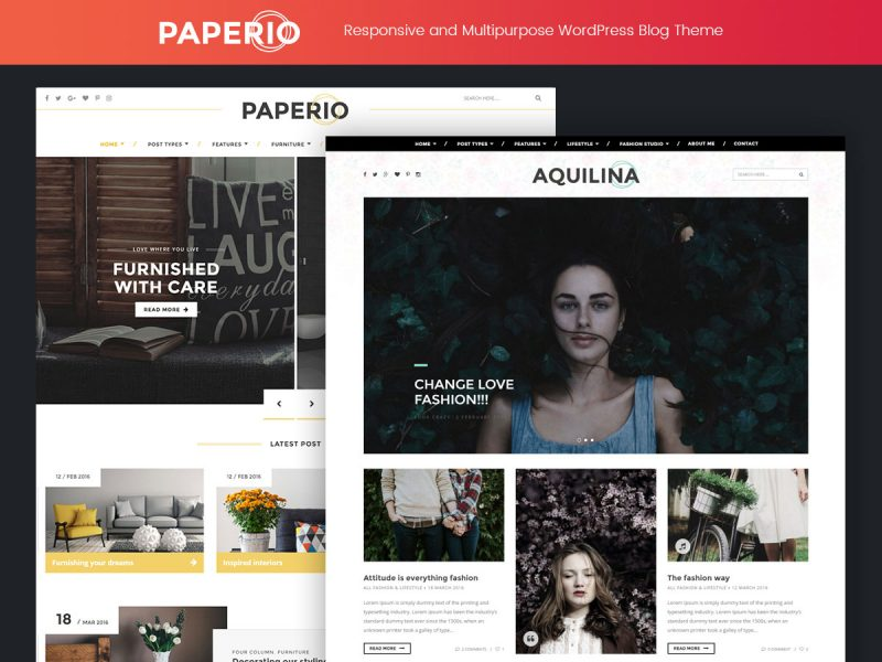 Paperio WordPress Theme
